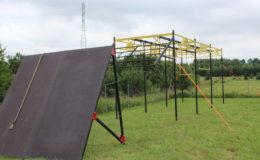 przeszkody terenowe extreme construction sciana skos 4