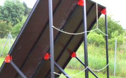 przeszkody terenowe extreme construction sciana skos 7