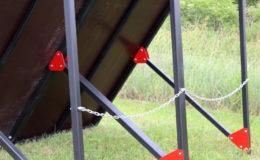 przeszkody terenowe extreme construction sciana skos 8